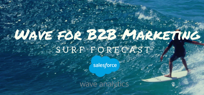 Wave Analytics for B2B Marketers: Surf Forecast