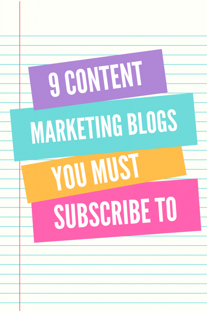 Top Content Marketing Blogs