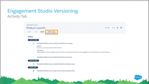 Pardot Engagement Studio Versioning