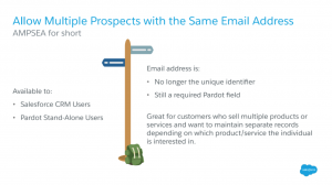 Allow Multiple Prospects with the Same Email Addre
