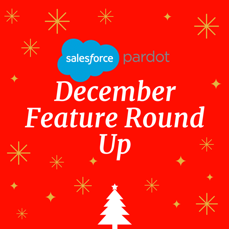 Pardot New Feature Update – December