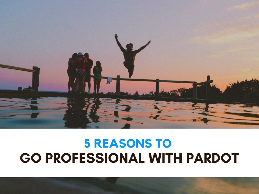 5 Reasons To Go Professional with Pardot