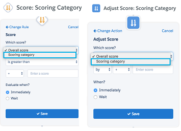 New Scoring Categories Features inside the Pardot Engagement Studio